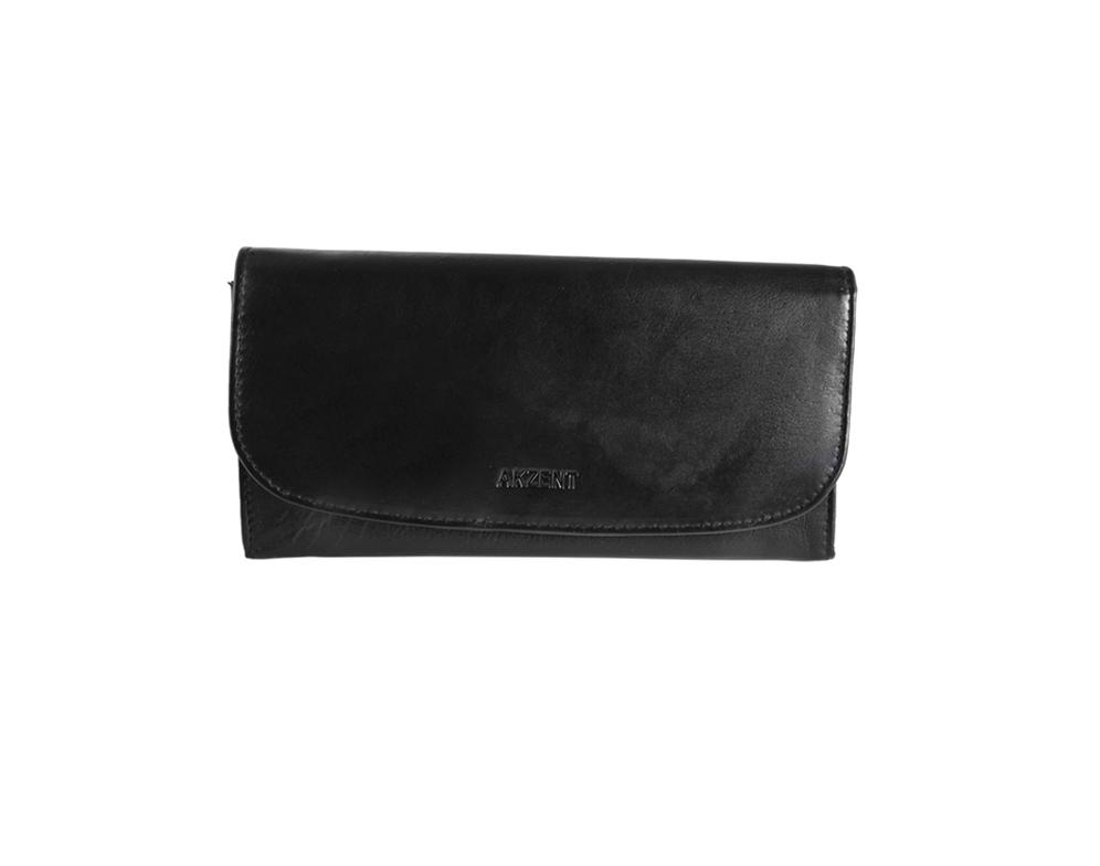 8cbaf2fa2 Dámska peňaženka z pravej kvalitnej kože - čierna - Zhodnocuj.sk