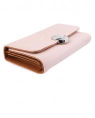 imitácia koža ružová dámska peňaženka