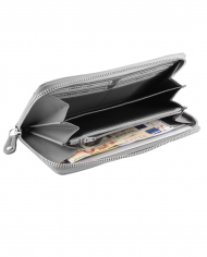 siva dámska peňaženka kožená RFID