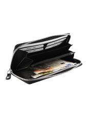 dámska peňaženka čierna RFID kožená