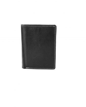 d5d5880b7f kožená peňaženka AKZENT na výšku – čierna